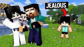 A VERY SAD STORY - HEEKO GOT JEALOUS WITH HAIKO - MINECRAFT ANIMATION