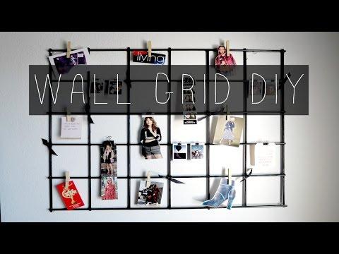 WALL GRID DIY   Paola Fog