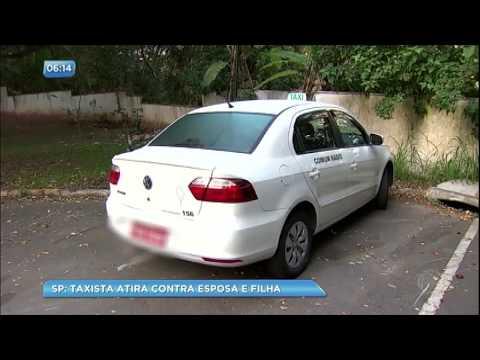 Taxista mata a esposa e atira contra a filha