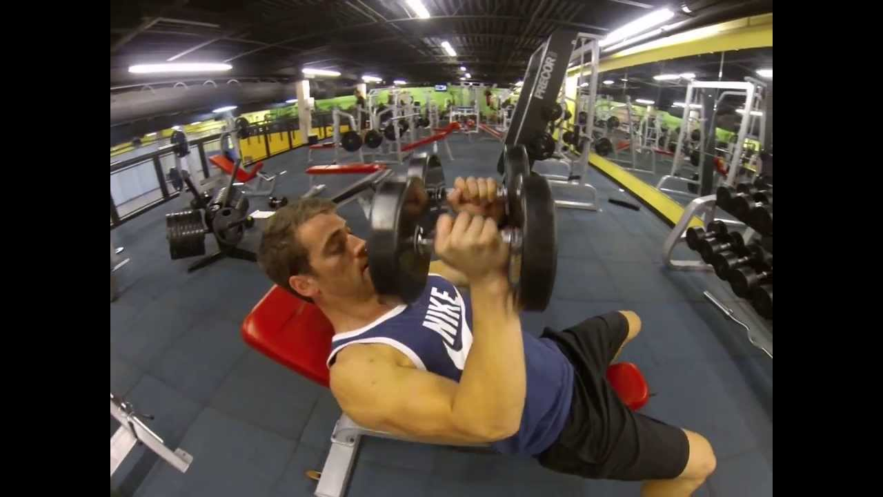 Chest Incline Dumbbell Close Grip Press Youtube