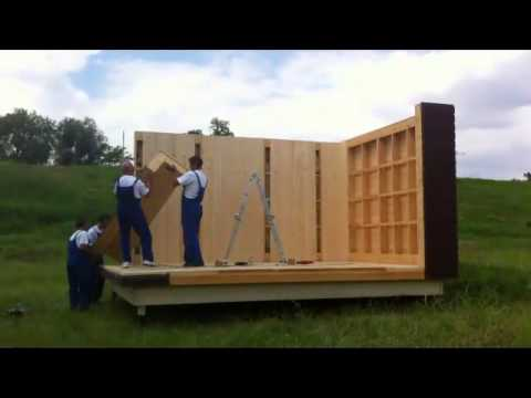 Garden room fast building solution youtube for Modular garden rooms