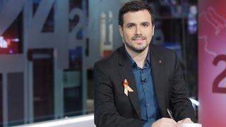 """Entrevista a Alberto Garzón en """"La Noche en 24 Horas"""" (Canal 24 Horas 19.02.2015)"""