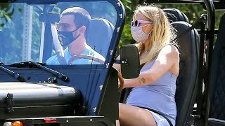 Sophie Turner Puts Baby Bump On Full Display While Out With Joe Jonas