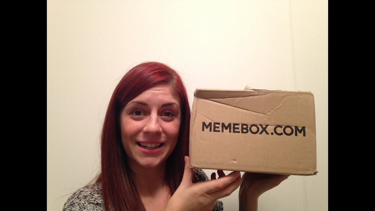 Memebox superbox st anniversary box unboxing youtube