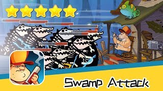Swamp Attack Episoed 2 Level 13 Walkthrough Defend Survive Attack! Recommend index five stars