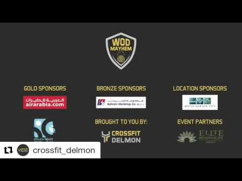 Wod Mayhem Competition At Water Garden City Youtube