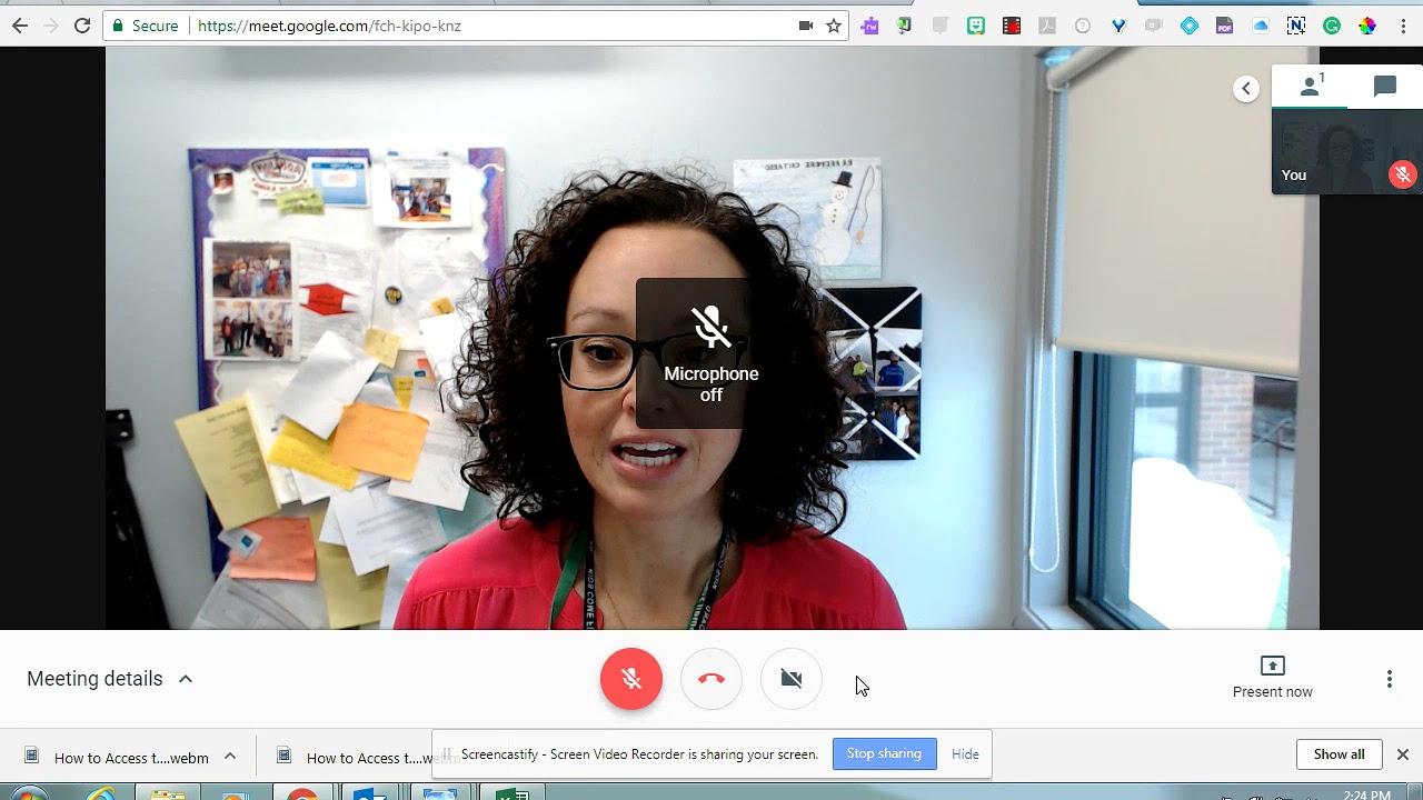 How to Access Google Meet Student Senate