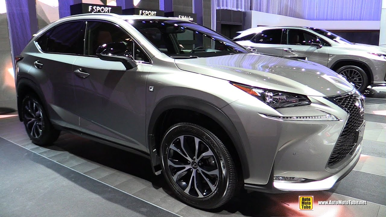 2017 Lexus Nx 200t F Sport Exterior And Interior Walkaround 2016