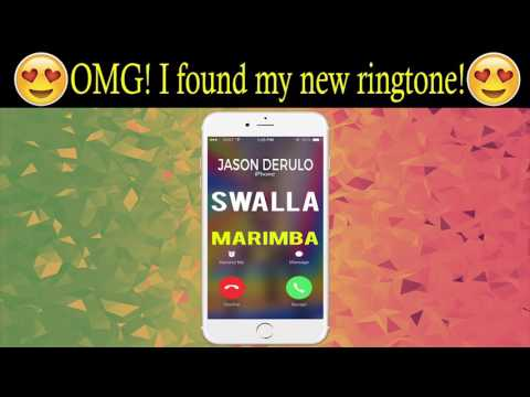 Swalla iPhone Ringtone - Best Marimba Ringtone of Jason Derulo, Nicki Minaj, Ty Dolla Sign