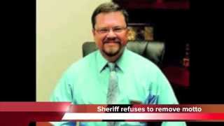 """TN sheriff refuses to remove """"In God We Trust"""" from patrol cars"""