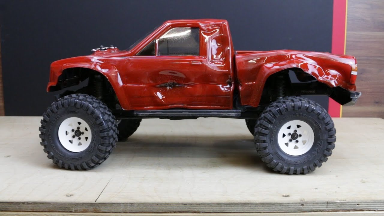 Bbc Top Gear Toyota Hilux Rc Edition Traas Trx 4