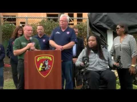 Eric LeGrand Park Dedication
