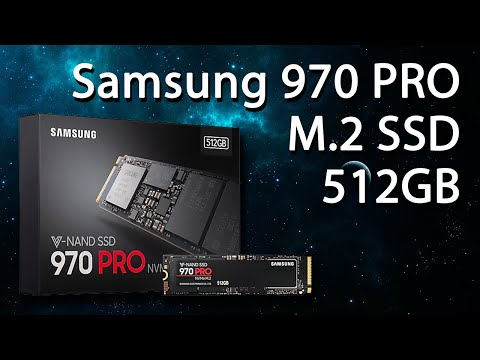 Samsung 970 Pro series 512GB M.2 PCIe 3.0 x4 V-NAND MLC (MZ-V7P512BW)