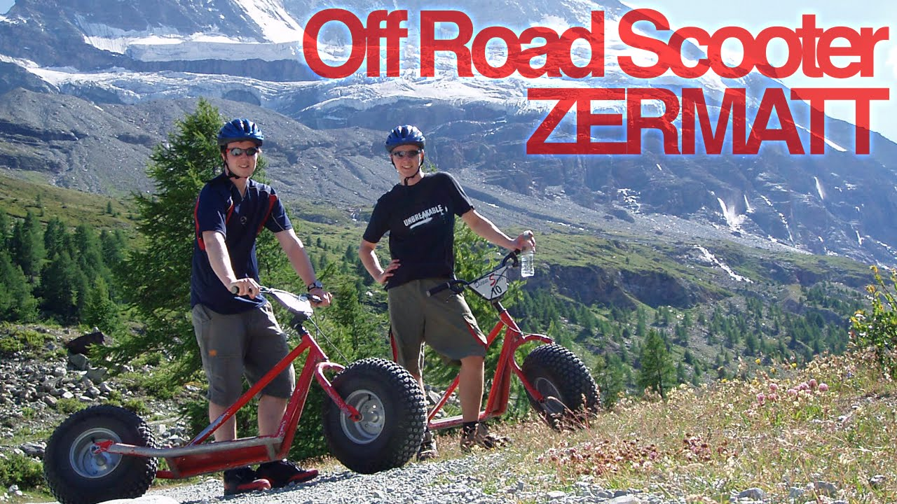 off road scooter zermatt youtube. Black Bedroom Furniture Sets. Home Design Ideas