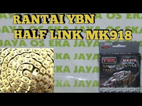 New YBN Half Link Bike Chain for Single Speed Bicycle Bike MK918 Green