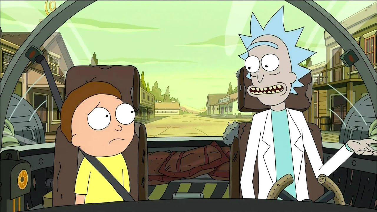 Rick And Morty Adult Swim Promo Look Who S Purging Now Episode 9 Season 2 Hd 1080p Youtube