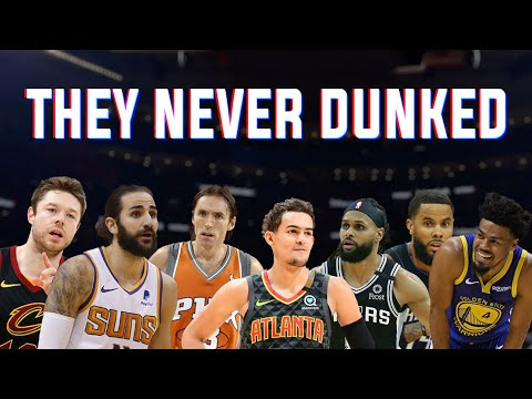 How Many NBA Point Guards Have Never Dunked?