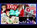 Vlogmas Christmas Lights | Girls Hair Accessories | Christmas Countdown Blocks DIY | Cookie Painting