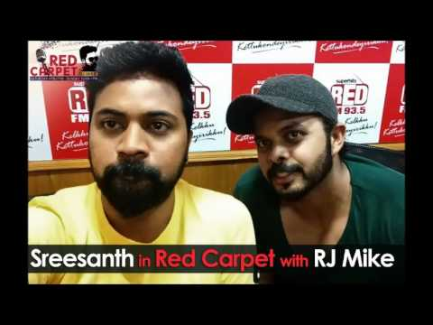 S. Sreesanth in `Red FM Red Carpet` with RJ Mike | Complete Episode | Team 5 | Red FM Kerala