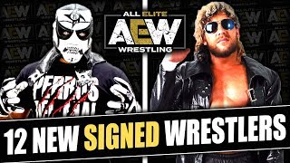 12 More Wrestlers That HAVE SIGNED To All Elite Wrestling! (Kenny Omega, Lucha Bros & More!)