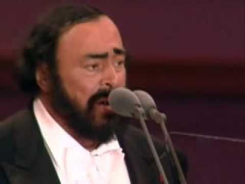 Caruso / Ti voglio bene assai sung by pavarotti