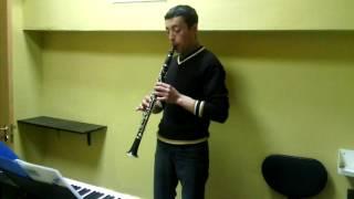 Школа музыки MusicLife. Урок кларнета