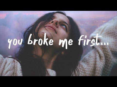 Tate McRae - you broke me first (Luca Schreiner Remix) Lyrics
