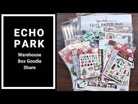 Thanksgiving Echo Park Warehouse Box Reveal - Echo Park and Carta Bella Goodies