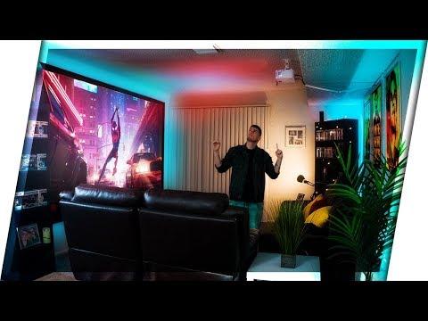 HUGE Home Theater Living Room Setup (2019)