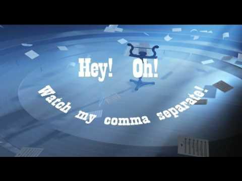 Commas Song - Educational Music Video