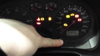 2003 Volkswagen Golf Service Reset