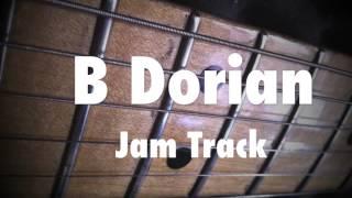 B Dorian Mode Funky Groove Jam Track