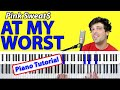 """How To Play """"At My Worst"""" by Pink Sweat$ [Piano Tutorial/Chords for Singing]"""