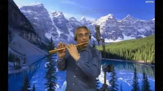 Ye Dil Aur Unki (Flute on Karaoke)