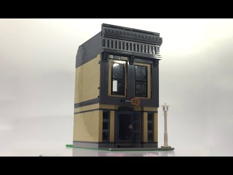 LEGO Modular-Compatible Music Store and Studio Apartment