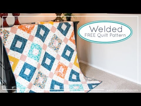 Welded Free Quilt Pattern For Art Gallery Fabrics And Fat Quarter