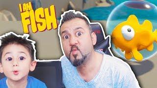 BEN BİR BALIĞIM! BALIK KURTARMA GÖREVİ! | EGEMEN KAAN İLE I AM FISH OYNUYORUZ