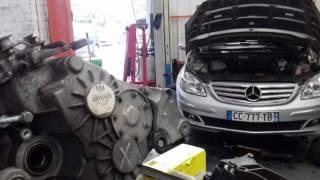 Gt autos Mercedes classe B embrayage remplacement