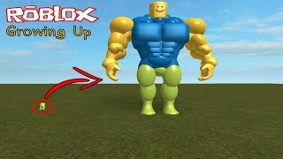Roblox : Growing Up #2 โตเร็วกว่าต้นไผ่ ก็ตรูนี้แหละ XD