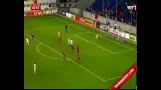 Türkiye Letonya  3-3 Maçın Özeti  28 Mayis 2013