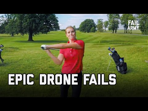 Epic Drone Fails - Top 40 Drone Fails of All Time