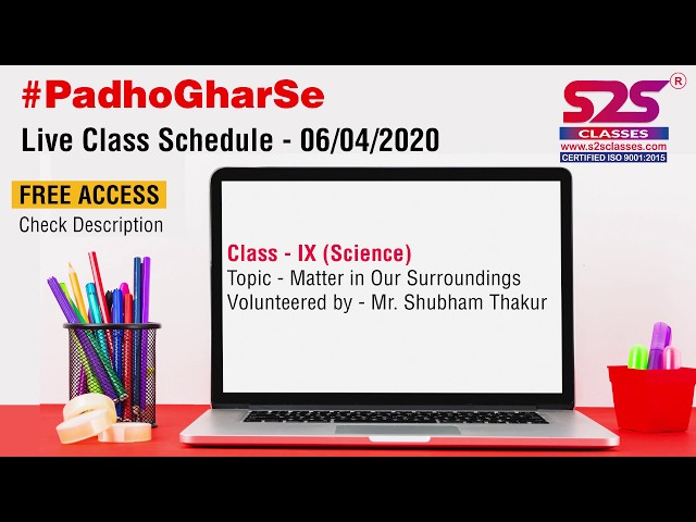 Class 9 Science Ch 1 - Matter in our Surroundings | Sublimation | Evaporation | Factors affecting |