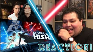 How Star Wars Rise of the Skywalker Should Have Ended REACTION!!