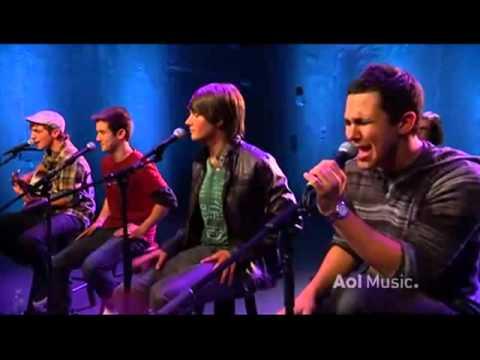 Big Time Rush  Stuck (Acoustic) AOL-Music