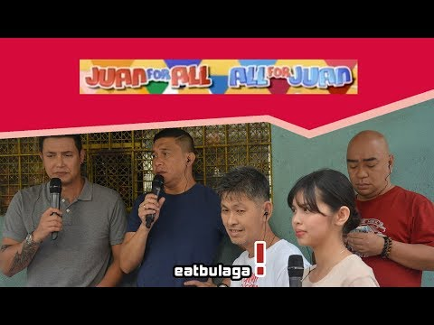 Juan For All, All For Juan Sugod Bahay | February 9, 2018