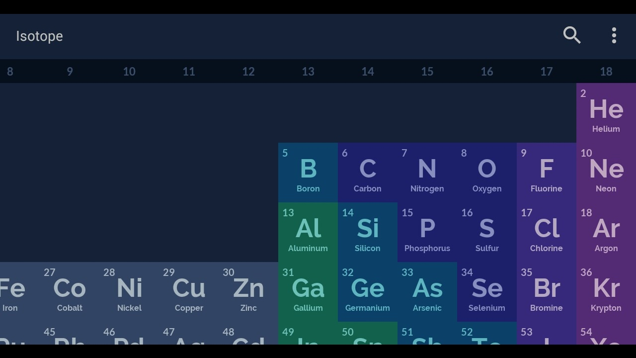 Isotope android periodic table app youtube isotope android periodic table app urtaz Choice Image