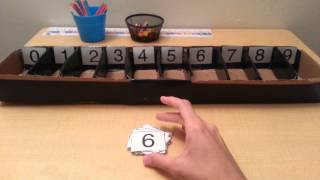 Homemade Montessori Spindle Box: Do it Yourself