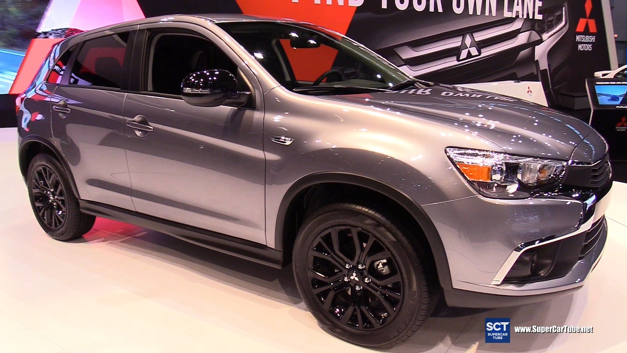 2018 Mitsubishi Montero Usa >> 2018 Mitsubishi Outlander Sport - Exterior, Interiot Walkaround - Debut at 2017 Chicago Auto ...