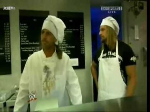 Shawn Michaels Sweet Chin Music A Guy And A Little Girl
