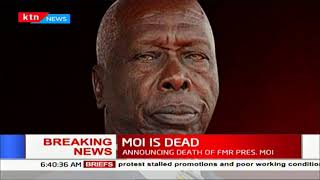 BREAKING NEWS: Former President of Kenya Daniel Toroitich Arap Moi is dead